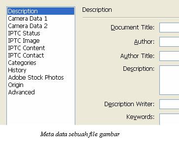 Foto asli atau rekayasa berbeda dalam meta data