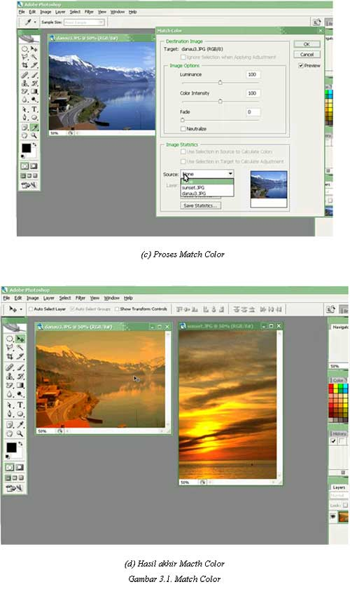 Tutorial Adobe Photoshop - Match Color