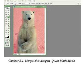 Tutorial Adobe Photoshop - Quick Mask Mode