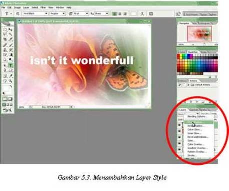 Tutorial Adobe Photoshop - Layer Style