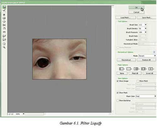 Tutorial Adobe Photoshop - Filter Liquify