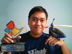 Oka, helikopter, dan piala IWIC 2008